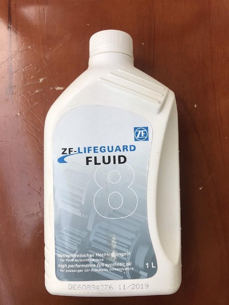 Dầu hộp số tự động ZF Lifeguard Fluid 8