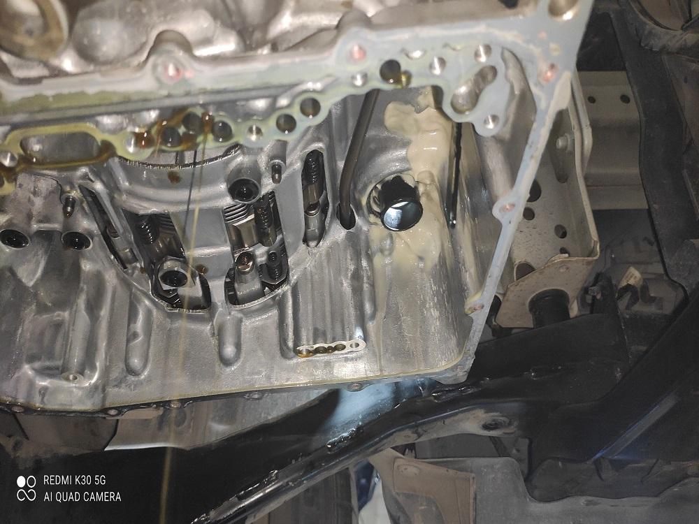 Hộp số xe Mazda 3 của bạn bị hư hỏng do nước vào trong hộp số.