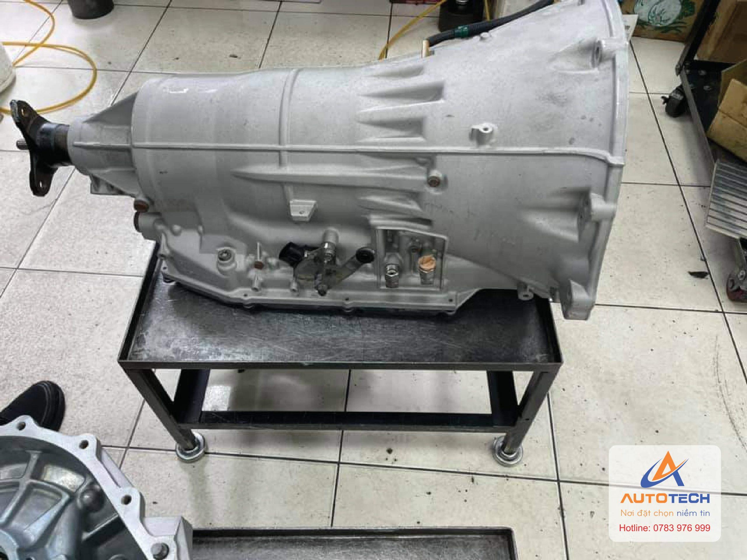 Hộp số Lexus LS460 sau khi đã sửa chữa.